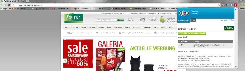 qipu cashback toolbar